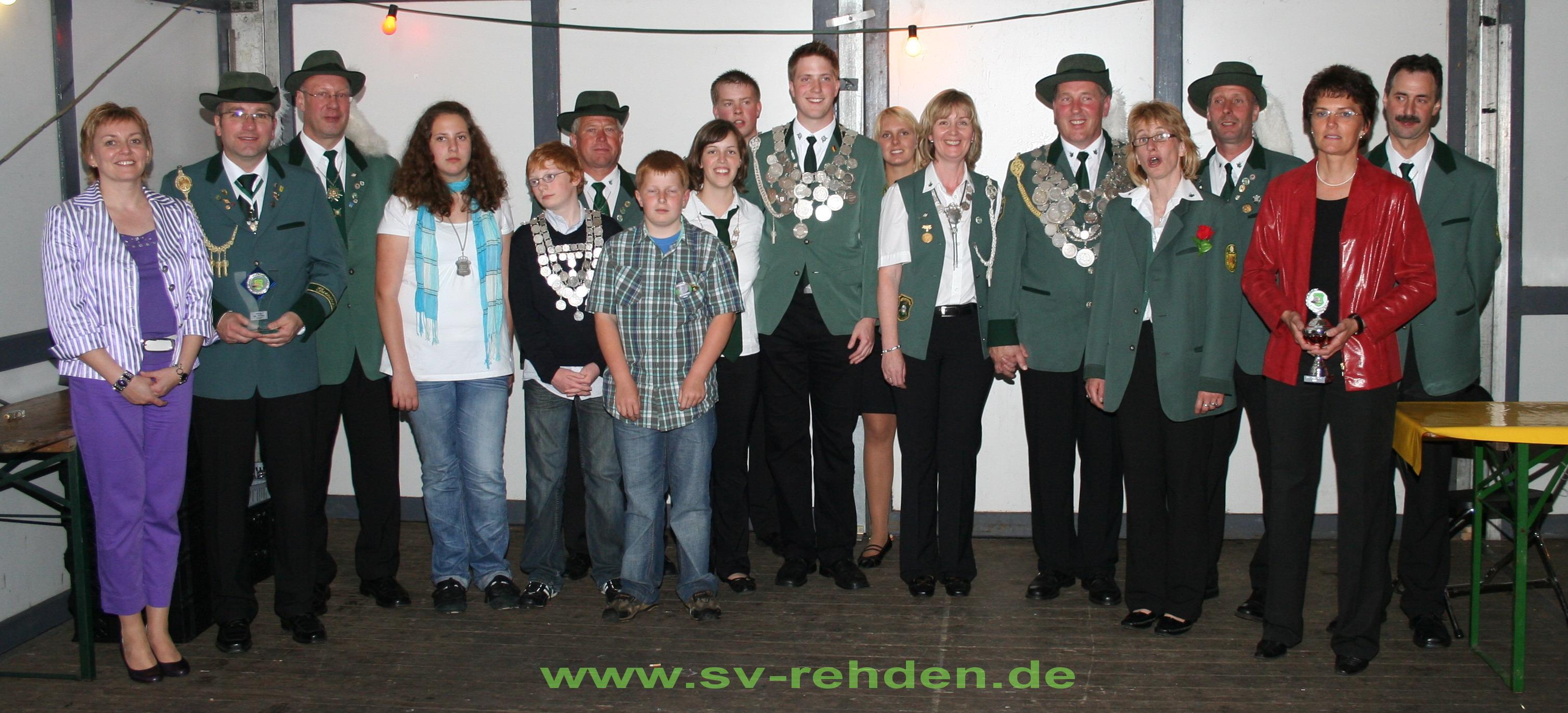 Die Würdenträger des Jahres 2009